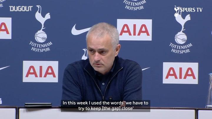 Mourinho: 'We have to keep fighting'