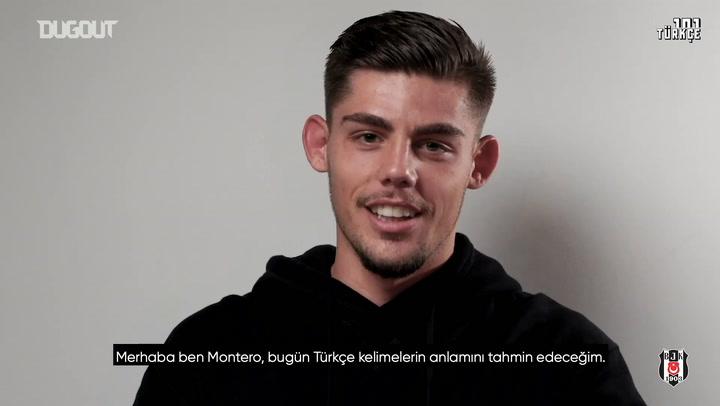 Francisco Montero, Türkçe Kelimeleri Öğreniyor