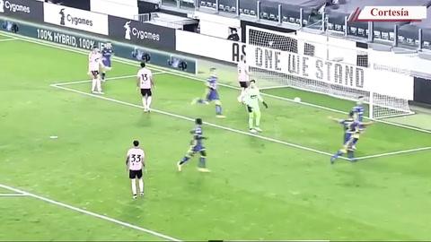 Juventus empató 1-1 contra el Verona en la quinta jornada de la liga italiana