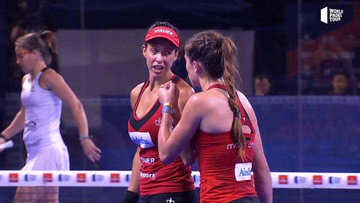 Resumen cuartos femeninos Logroño Open 2019 (primer turno)