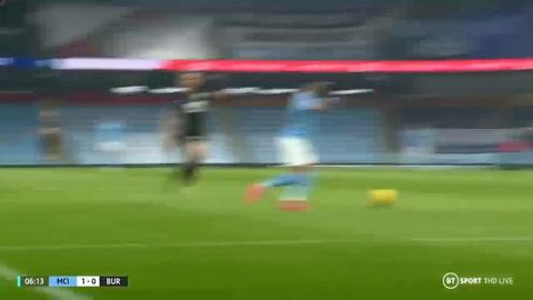 Manchester City 5-0  Burnley (Premier League)
