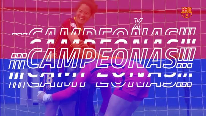 El FC Barcelona campeón de la Champions League femenina