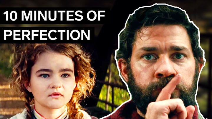 How 'A Quiet Place' built one of the scariest openings without words