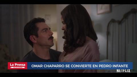 Como Caído del Cielo: Omar Chaparro se convierte en Pedro Infante