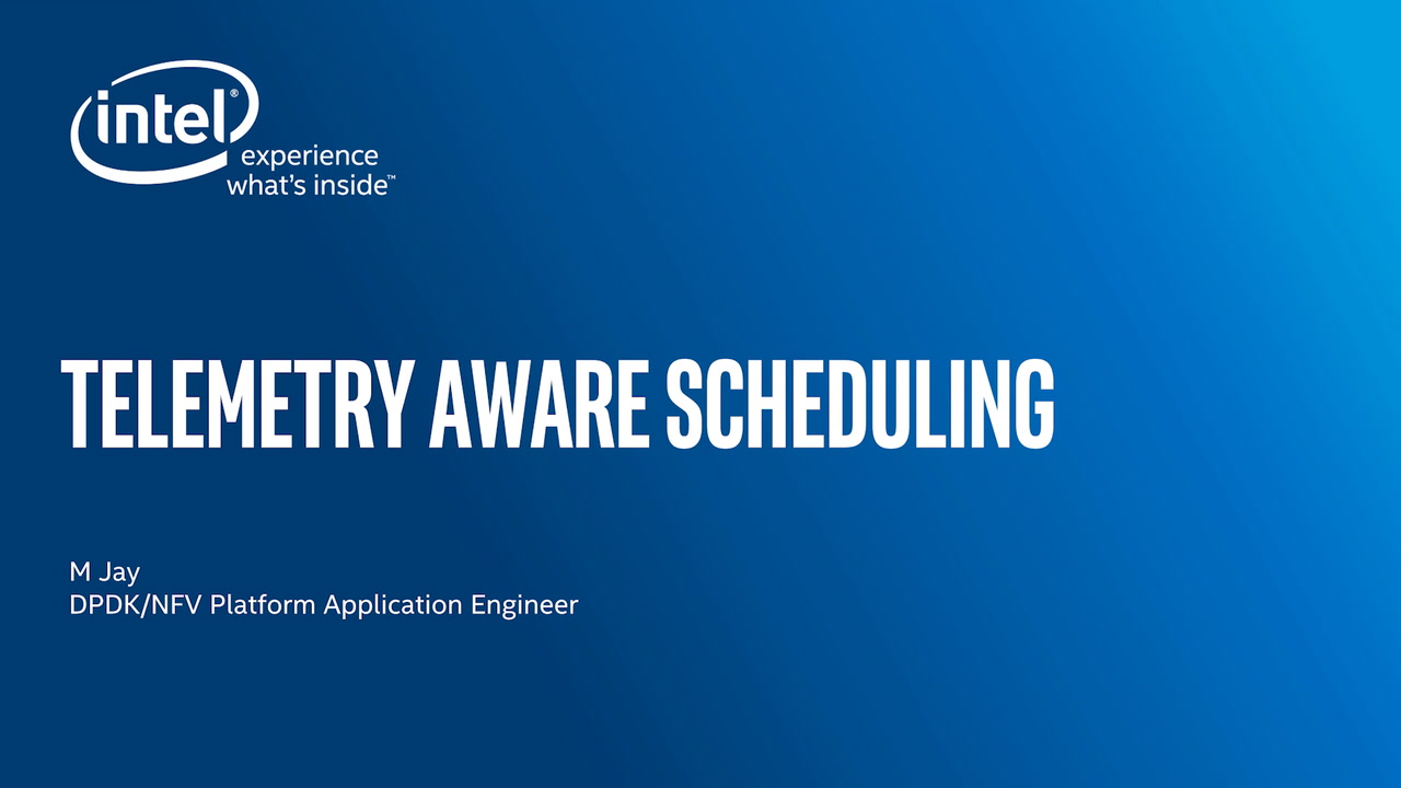 Chapter 1: Telemetry Aware Scheduling