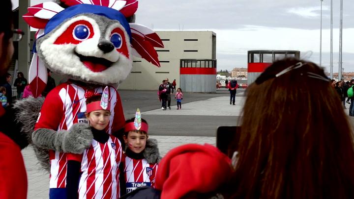Children's Day in the Wanda Metropolitano Rocked