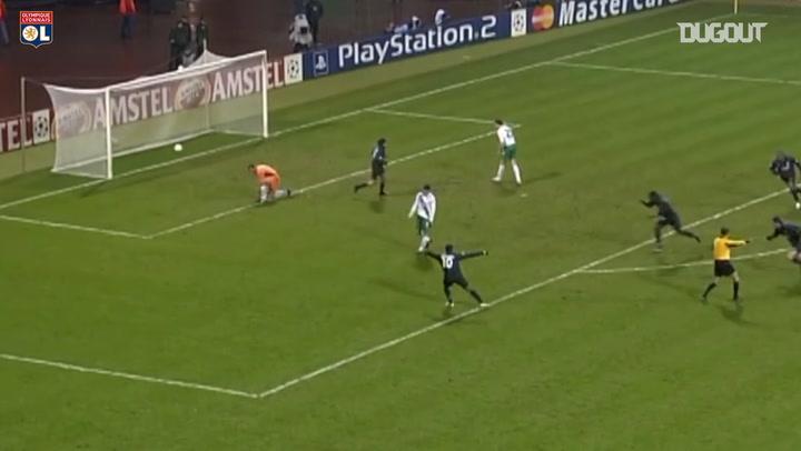 Diarra's superb goal vs Werder Brêmen in 2005