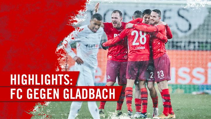 Highlights Borussia Mönchengladbach - 1. FC Köln (2020 - 2021)