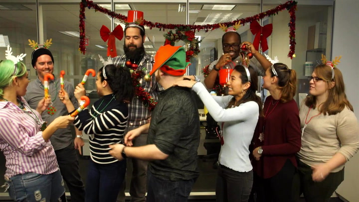 Fuse Staffers Face Off in First Ever Reindeer Games