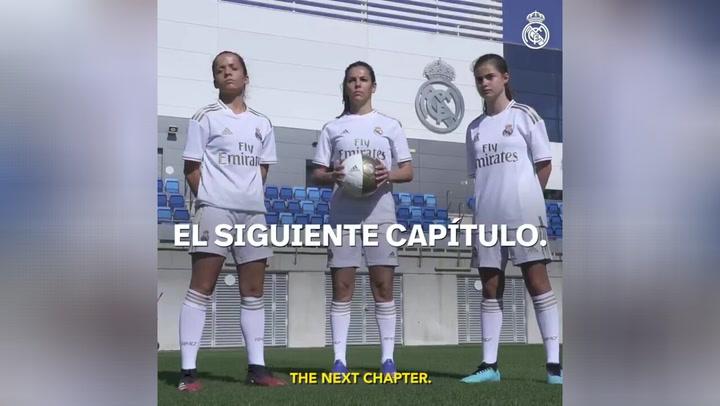 La espectacular bienvenida del Real Madrid a su futuro equipo femenino
