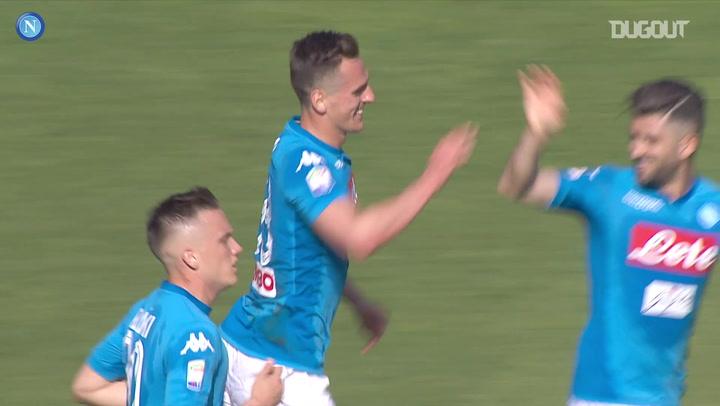 Milik's last-minute header vs Chievo Verona