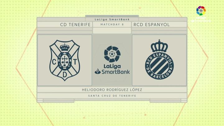 LaLiga SmartBank (J8): Tenerife 0-0 Espanyol
