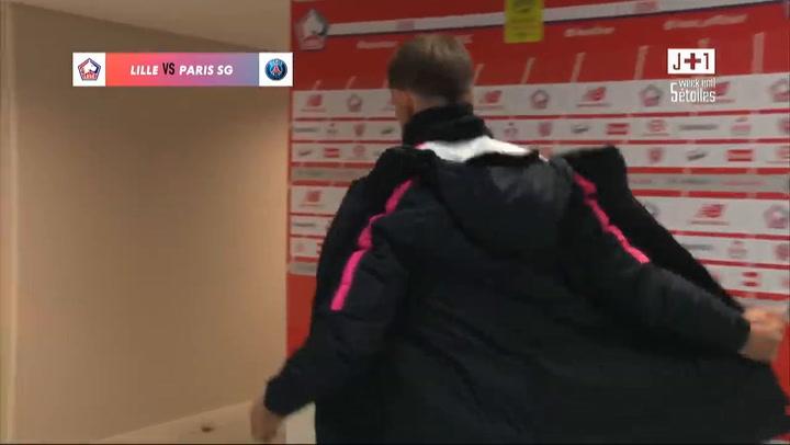 La presión del PSG sobre el árbitro tras la derrota en Lille