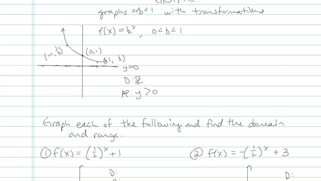 Exponential Functions and their Graphs - Problem 5