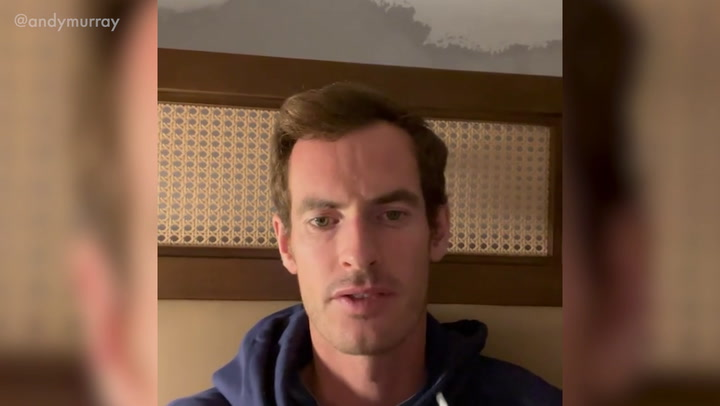 Andy Murray explains how his tennis shoes and wedding ring were stolen