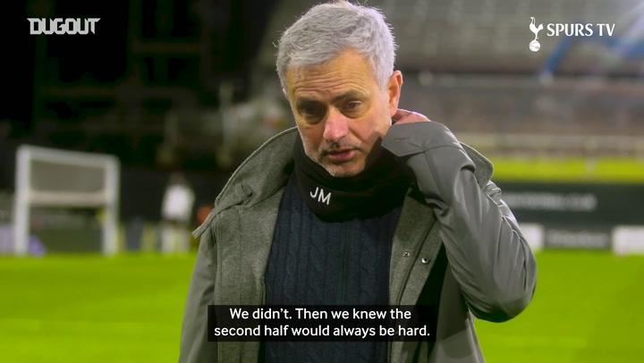 Jose Mourinho: Tottenham should have killed the game off