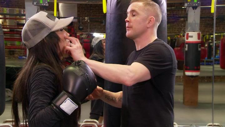 Bambiana's Boxing Lesson