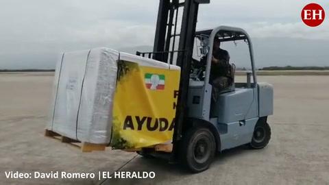 Honduras: Llega donación de vacunas AztraZeneca por parte de México
