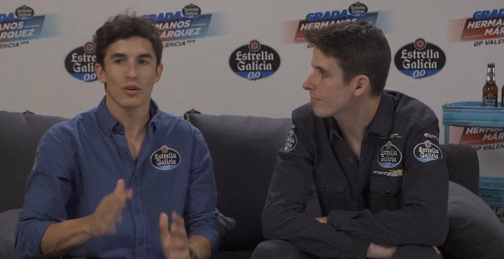 Entrevista Marc y Álex Marquez: