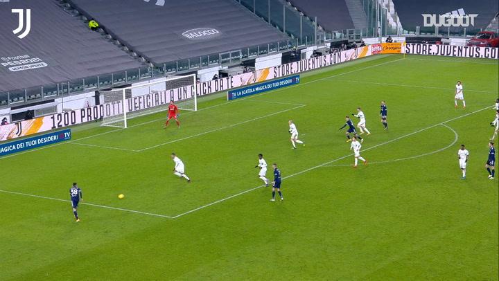 Frabotta's first Serie A assist