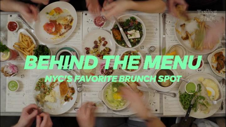 Behind The Menu: NYC's Favorite Brunch Spot