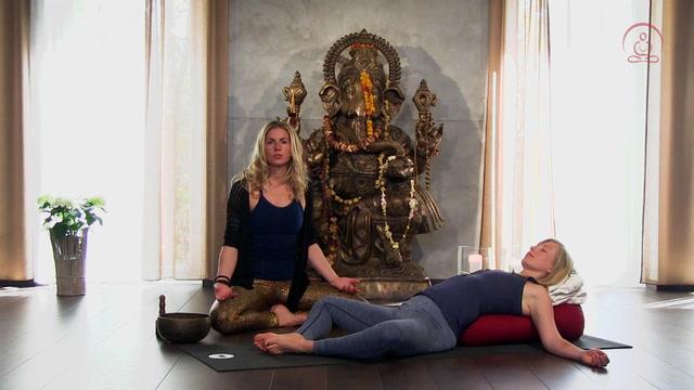 Yin Yoga Video für den Abend