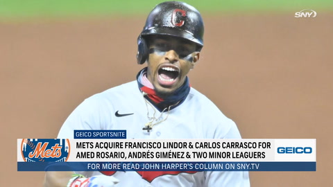 SportsNite: Trading for Francisco Lindor reminiscent of Mike Piazza, Gary Carter and Keith Hernandez trades