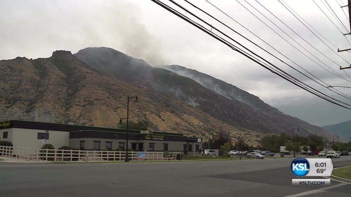 'Human-Caused' Alaska Fire Continues To Burn In Utah County