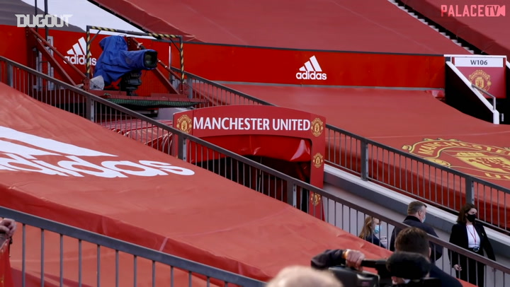 Crystal Palace's success at Manchester United - videos