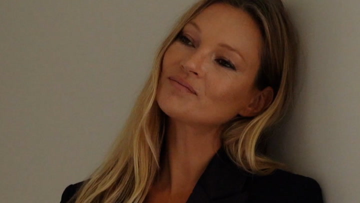 Kate Moss looks flawless in bridal-inspired gown for new campaign