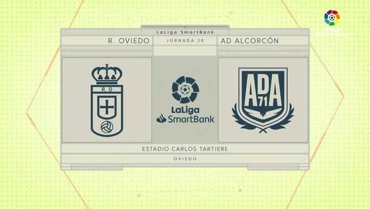 LaLiga SmartBank (J28): Resumen y goles del Oviedo 1-2 Alcorcón