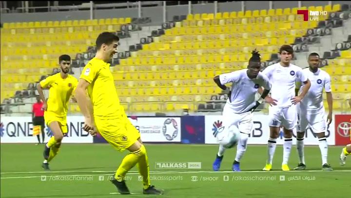 Goal by Cristian Ceballos a lo 'panenka'