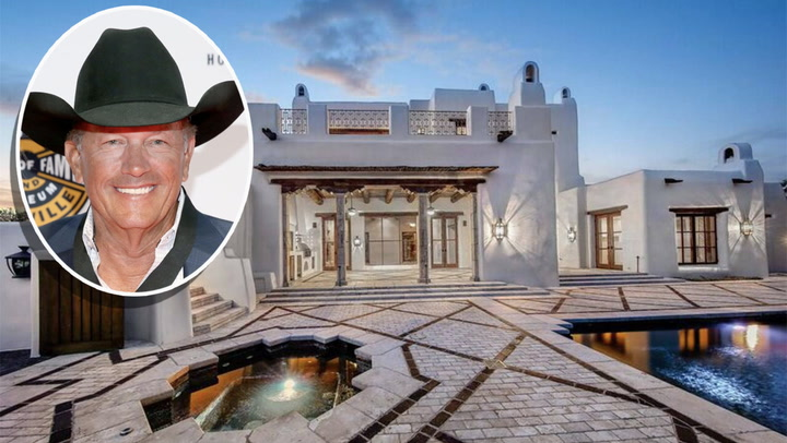 'King of Country' George Strait Selling Custom Mansion in San Antonio