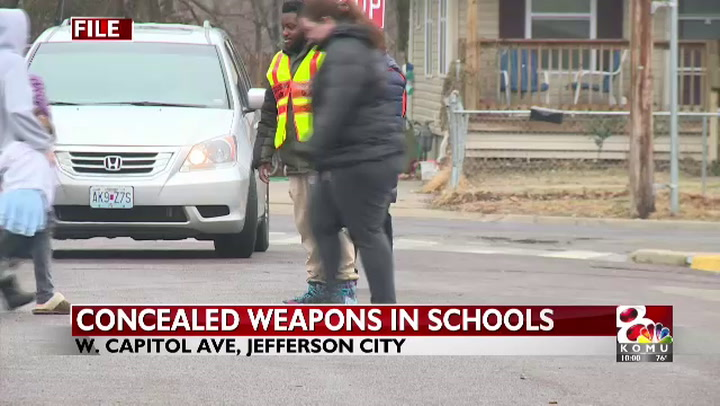 Legislature debating bill on who can carry concealed weapons in schools