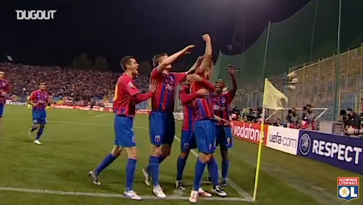 OL's amazing comeback vs Steaua Bucarest in 2008