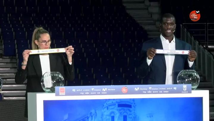Así fue el sorteo de la Copa ACB Madrid 2021