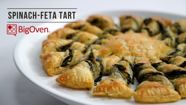 Spinach-Feta Tart
