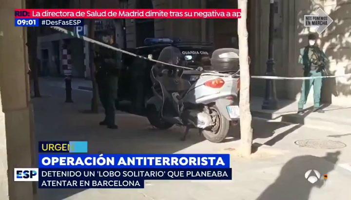 La policía detiene a un hombre por suspuesta vinculación con el terrorismo islámico