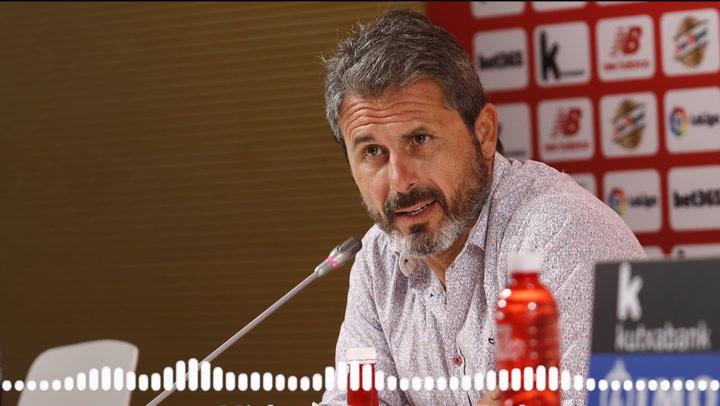 Rafa Alkorta habla en la previa de la vuelta de la semifinal de la Copa del Rey