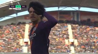 Manchester City le ganó 3-0 al Huddersfield en la Premier League