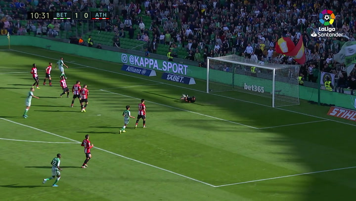 Gol 0200 Real Betis - Athletic Club J16 JOAQUIN