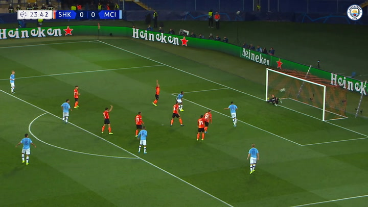 All the goals from Manchester City's 2019-20 Champions League campaign