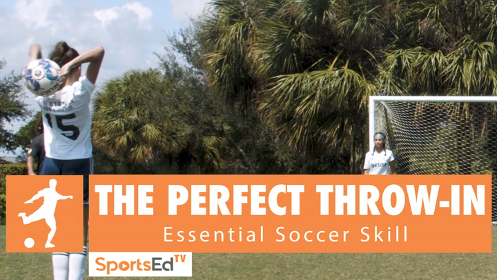 THE PERFECT THROW-IN - Essential Soccer Skill • Ages 6+