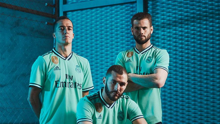 El Real Madrid presenta la tercera equipación
