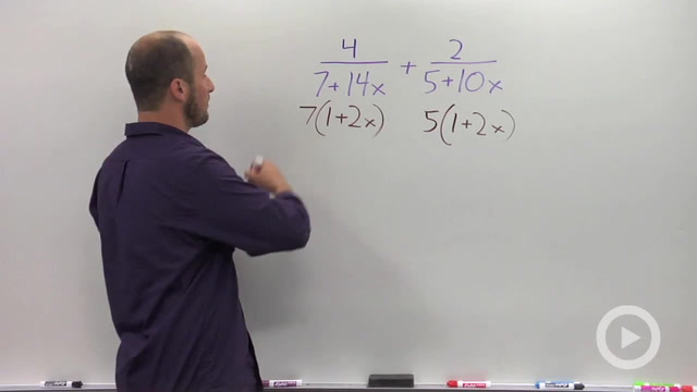 Adding and Subtracting Rational Expressions - Problem 1