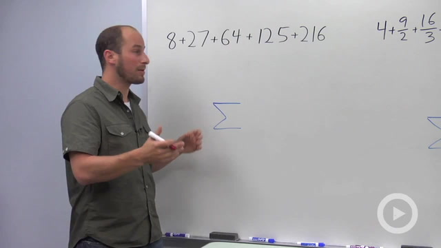 Series and Summation Notation - Problem 3