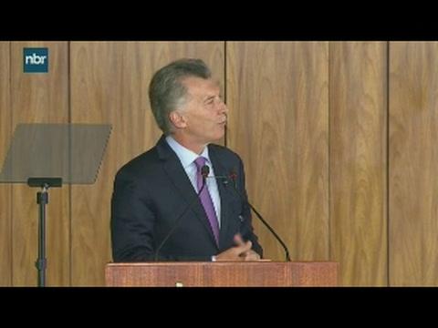 Macri: Con Bolsonaro hablamos de la necesidad de modernizar el Mercosur
