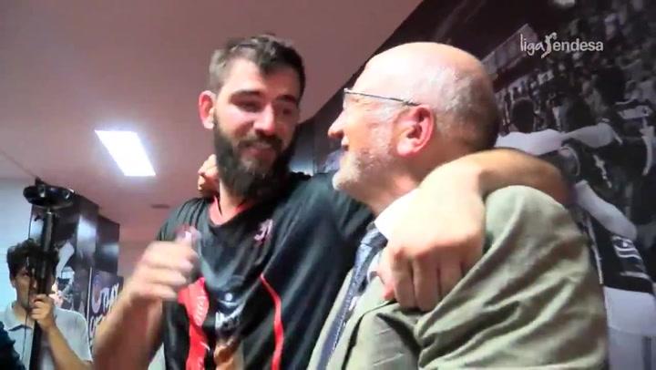 Dubljevic se sincera: ¡Esta es mi casa, yo siempre aquí!