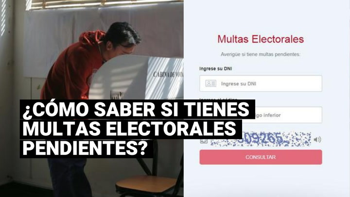 Elecciones 2021: sepa cómo saber si tiene multas electorales pendientes de pago