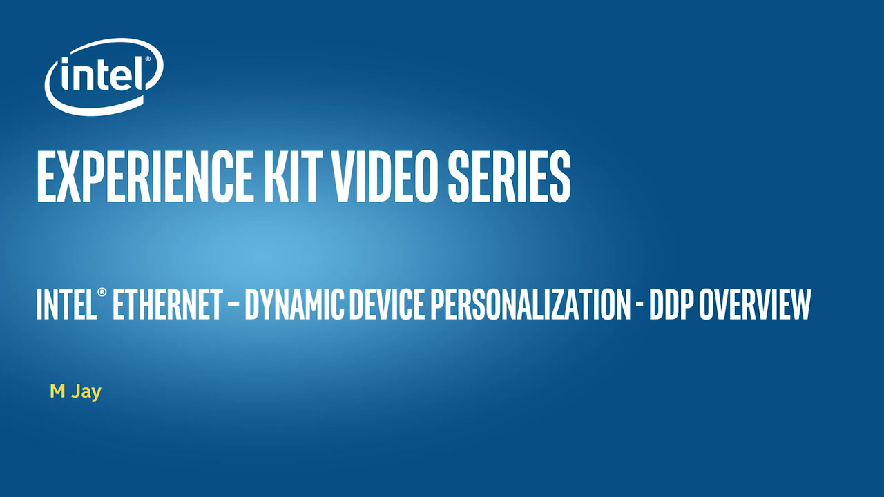 Chapter 1: Intel® Ethernet - Dynamic Device Personalization (DDP) Overview